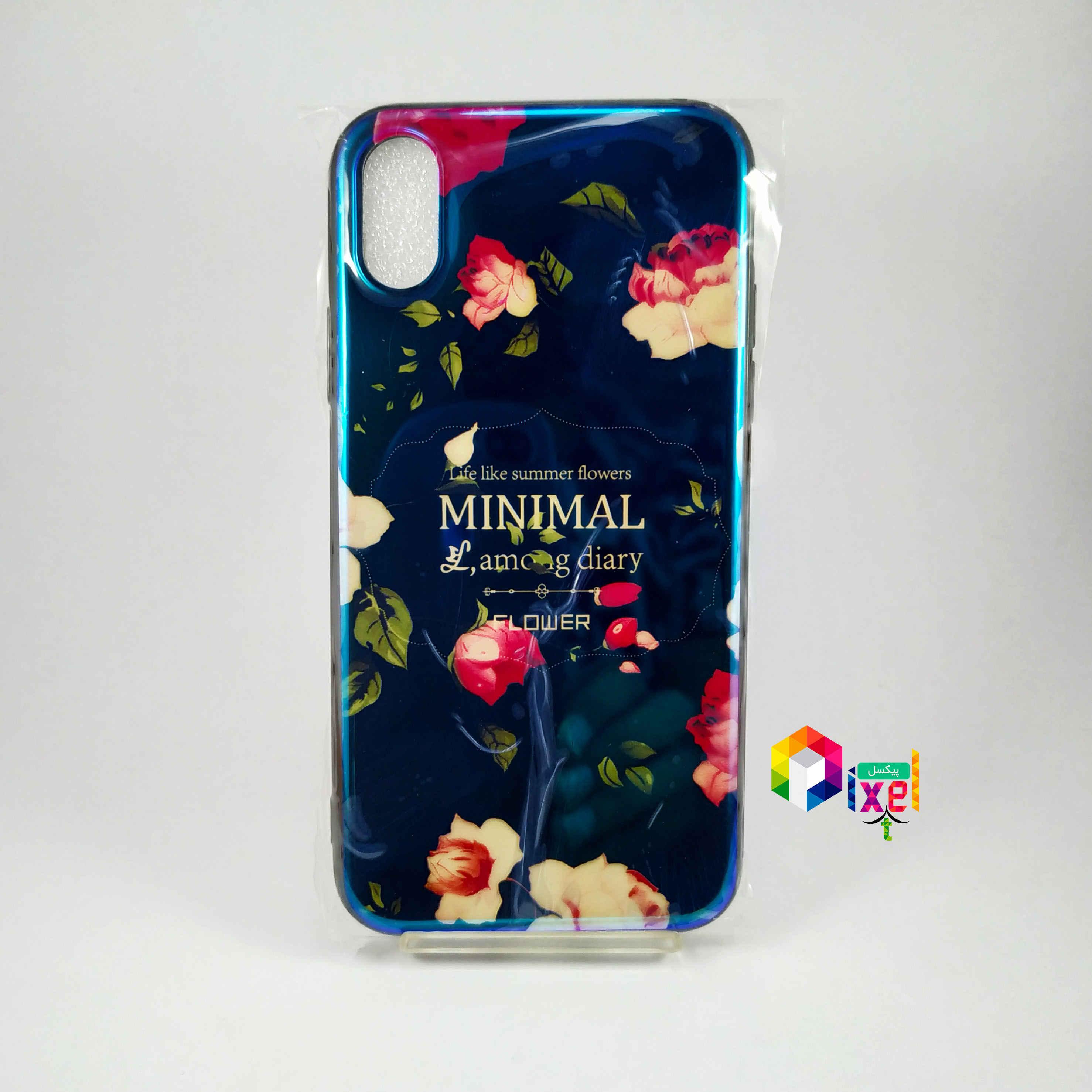 قاب فانتزی گل گلی iPhone X , iPhone XS