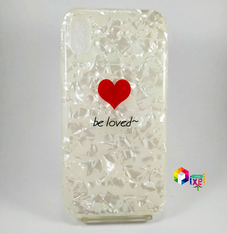 قاب فانتزی ماربل iPhone X , iPhone XS Be loved