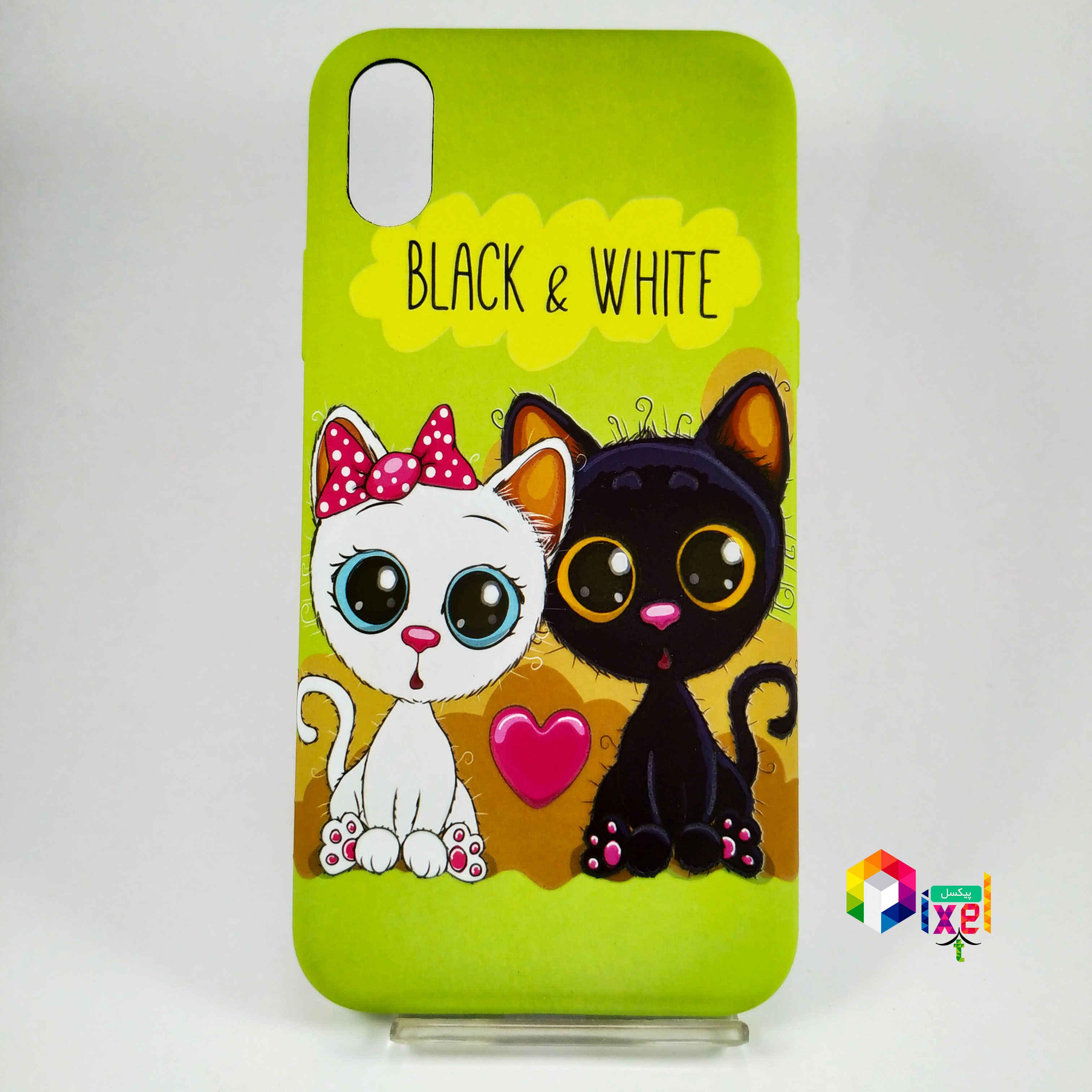 قاب فانتزی گربه ای iPhone X , iPhone XS