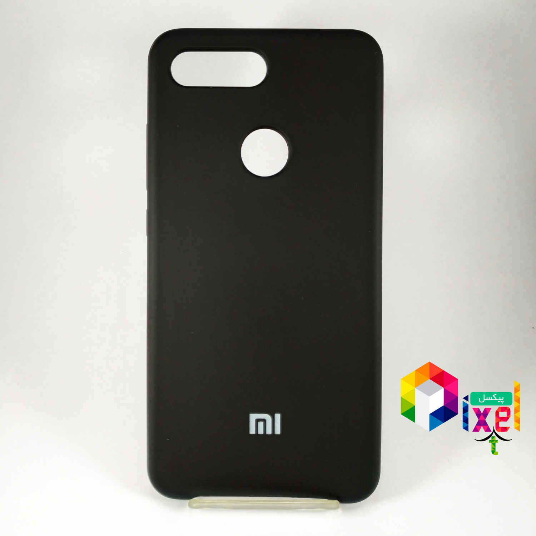 قاب سلیکونی مشکی Xiaomi Mi 8 Lite