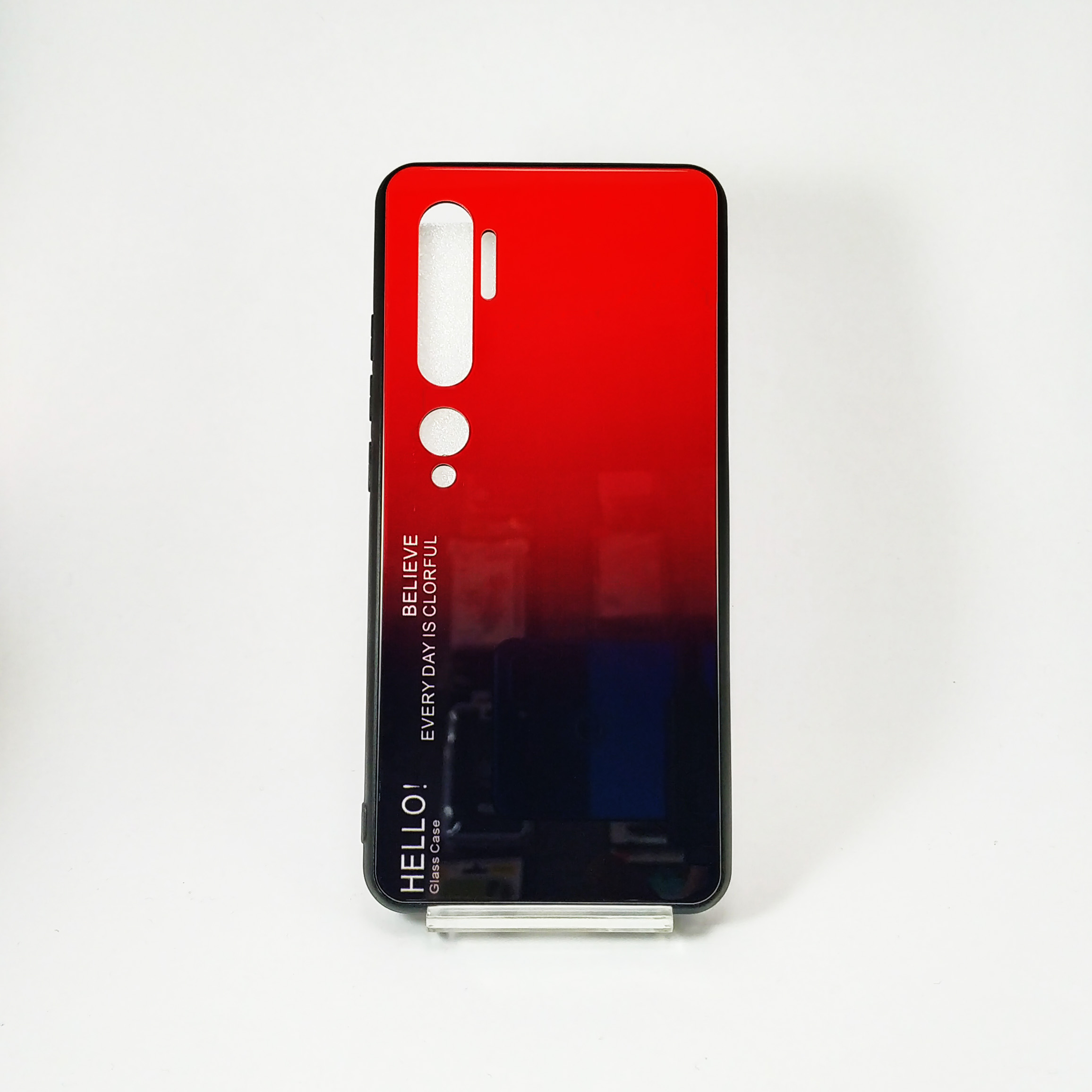 قاب پشت گلس مدل Hello برای Mi Note 10 , Mi Note 10 Pro